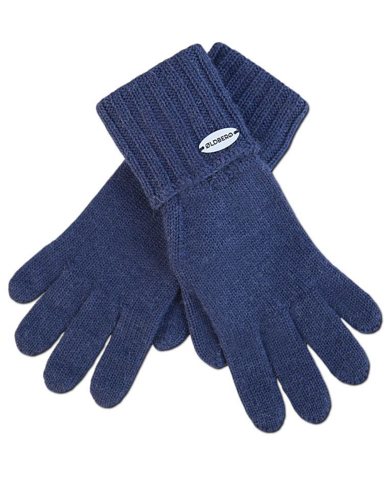 GLOVES WITH RIBBED CUFF