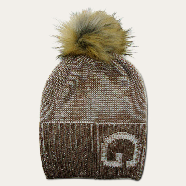 Øldberg brown igloo beanie