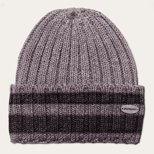 men grey beanie